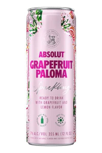 Absolut Grapefruit Paloma Single