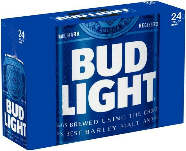 Bud Lt 24pk can