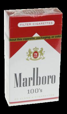 Marlboro Red 100 Box