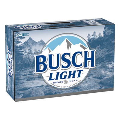 Busch Lt 24pk can