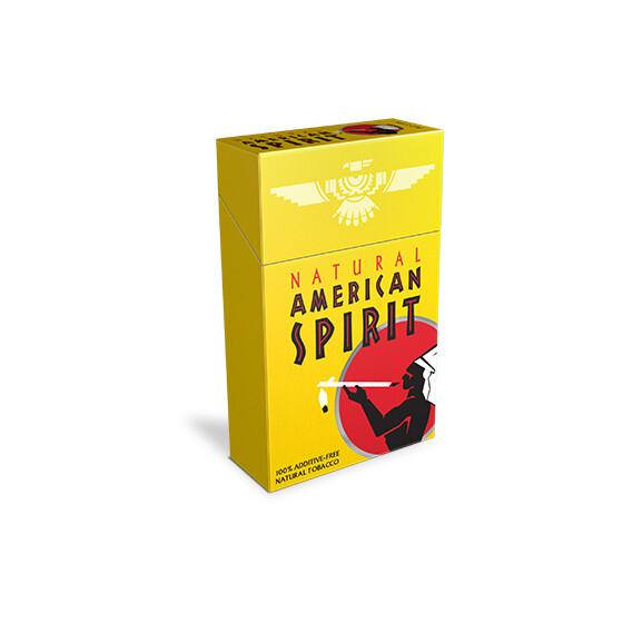American Spirit Yellow King Box