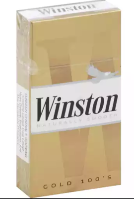 Winston Gold 100 Box
