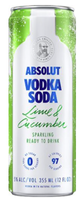 Absolut Lime & Cucumber Single