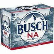 Busch NA 12pk 12oz cans