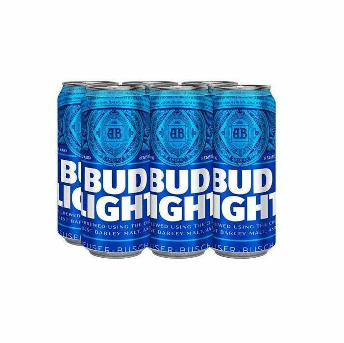 Bud Lt 6pk can