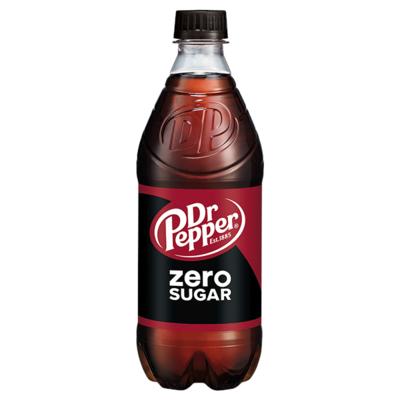Dr. Pepper Zero Sugar 20oz