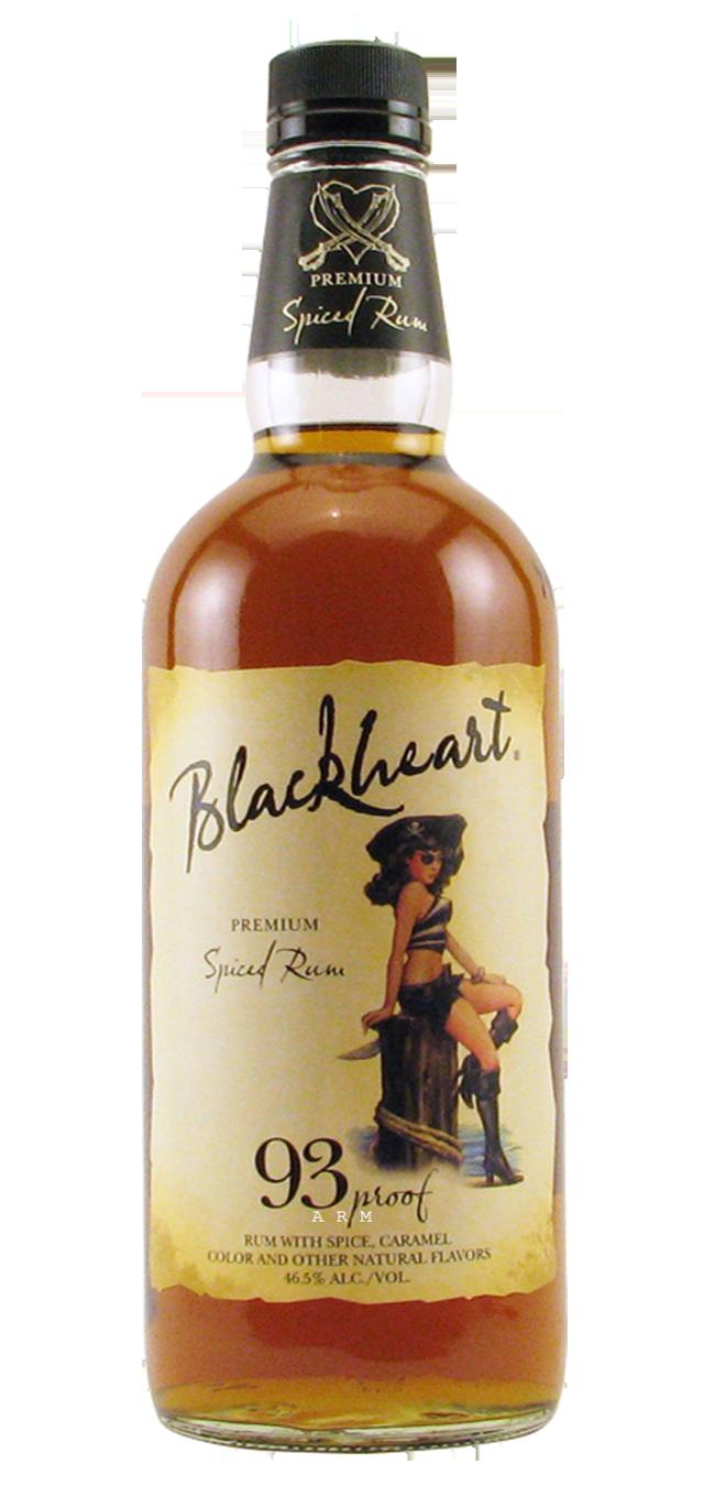 Blackheart Spiced Rum 750mL