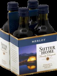 Sutter Home Merlot 4pk 187mL