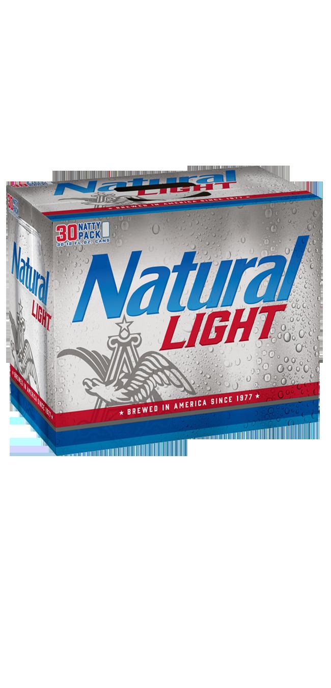 Natural Light 30pk can