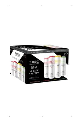 Basic Hard Seltzer Variety 12pk 12oz Cans