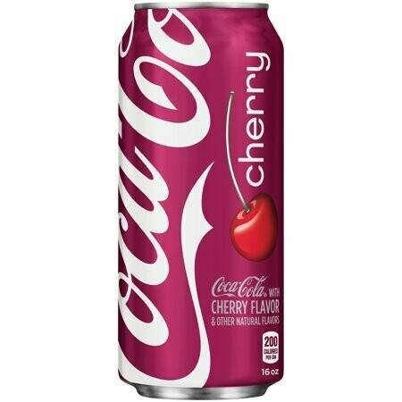 Coke Cherry 16oz can