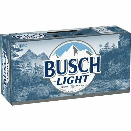 Busch Light 18pk can