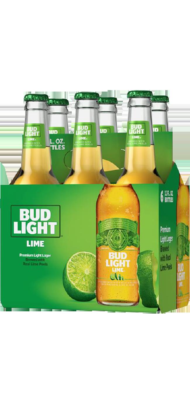 Bud Lt Lime 6pk btl