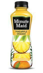 Minute Maid Pine-Orange 12oz btl