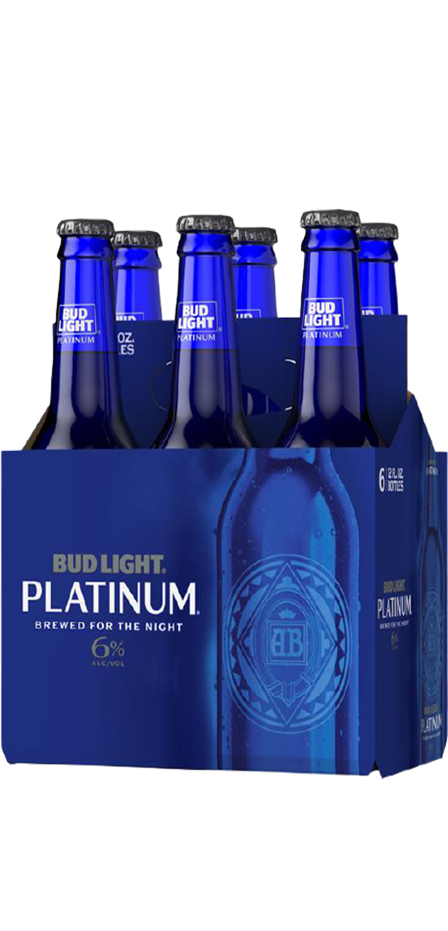 Bud Lt Platinum 6pk btl