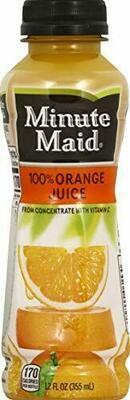 Minute Maid Orange 12oz BTL