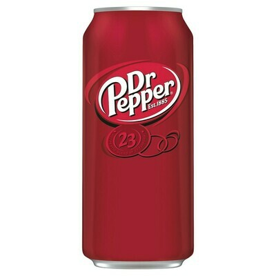 Dr. Pepper 16oz can