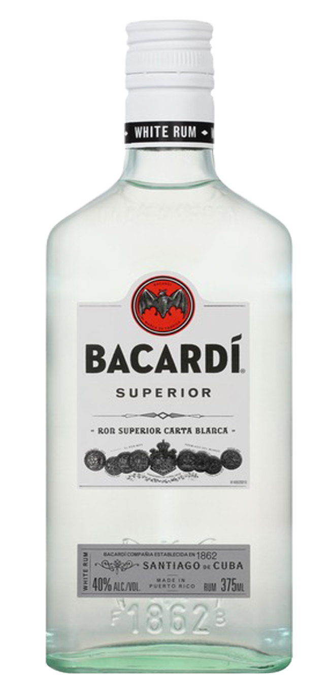 Bacardi Rum 375mL