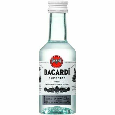 Bacardi Rum 50mL