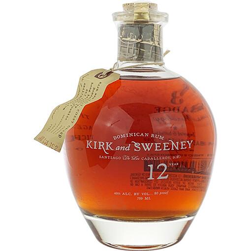 Kirk and Sweeney 12yr Rum 750mL
