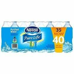 Nestle Pure Life .5L 40pk btl