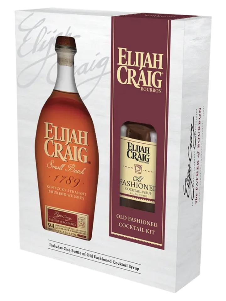 Elijah Craig Gift Set 750mL