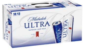 Michelob Ultra 18pk can