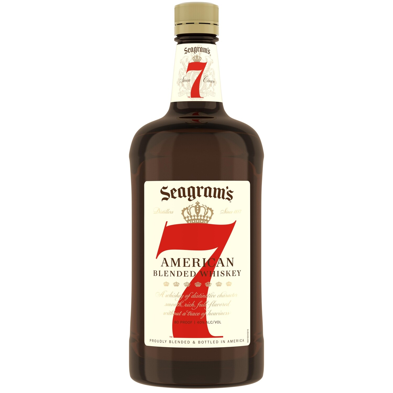 Seagrams 7 Whiskey 1.75L