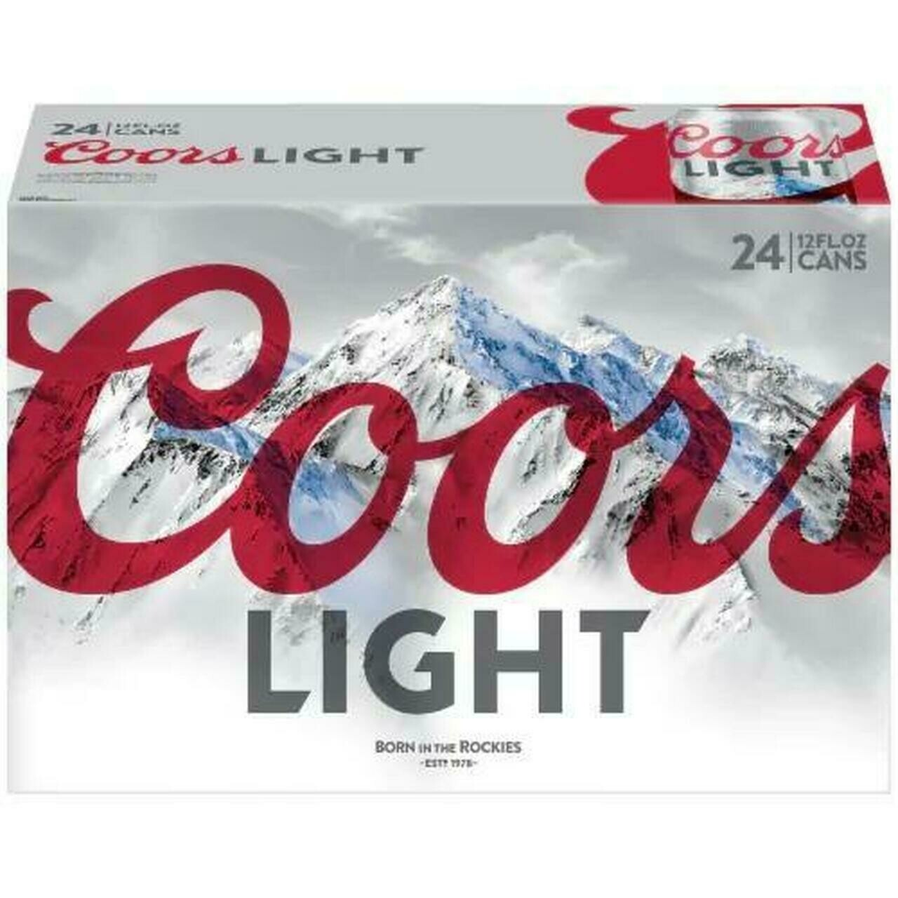 Coors Lt 24pk can