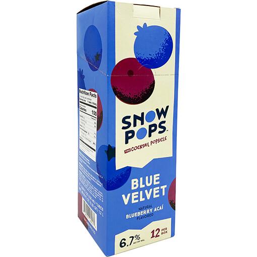 Snow Pops Blue Velvet 100mL 12pk