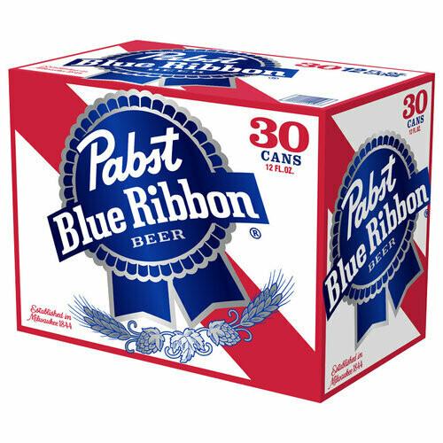 Pabst Blue Ribbon 30 Pk 12oz