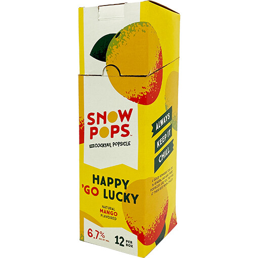 Snow Pops Happy Go Lucky 100mL 12pk