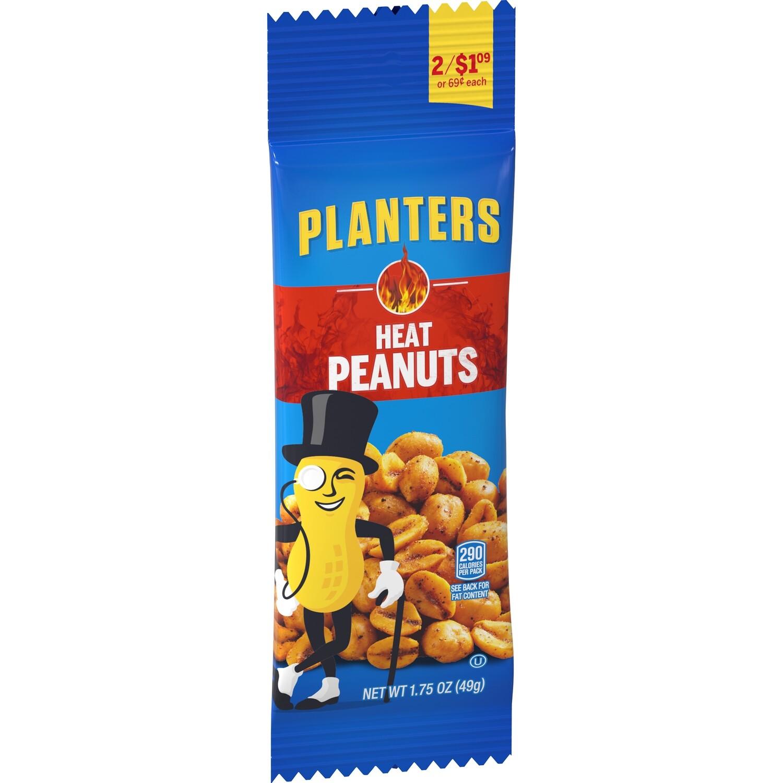 Planters Tube Heat Peanuts