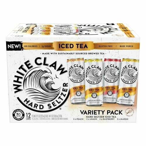 White Claw Tea Variety 12pk