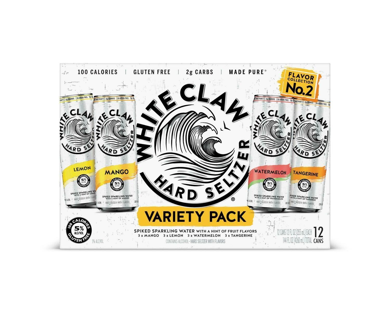 White Claw #2 Variety 12pk