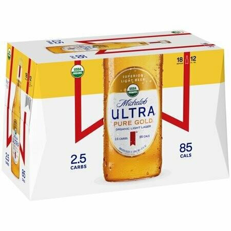 Michelob Ultra Pure Gold Organic 12pk