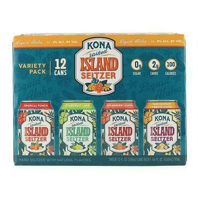 Kona Seltzer Variety 12pk can