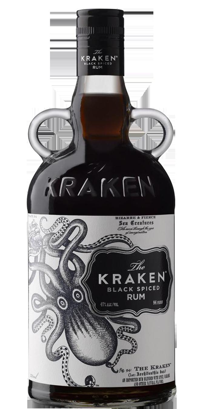 Kraken Dark Rum 750mL