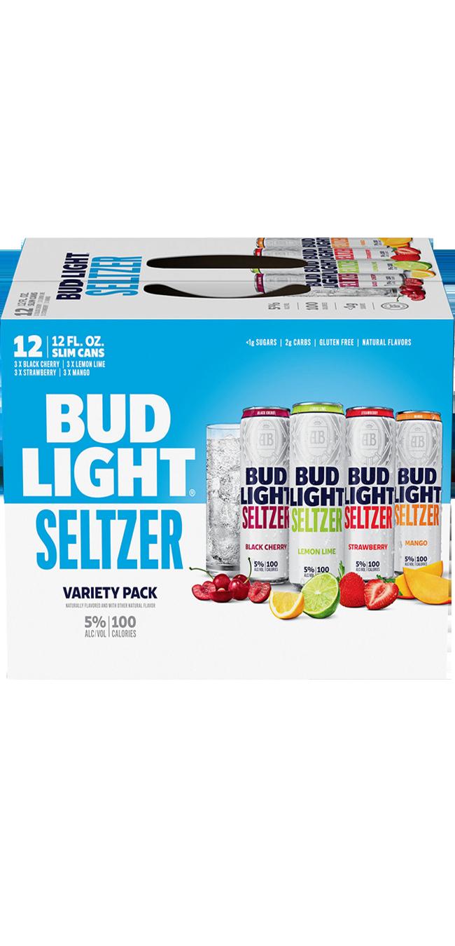Bud Lt Seltzer Variety 12pk can