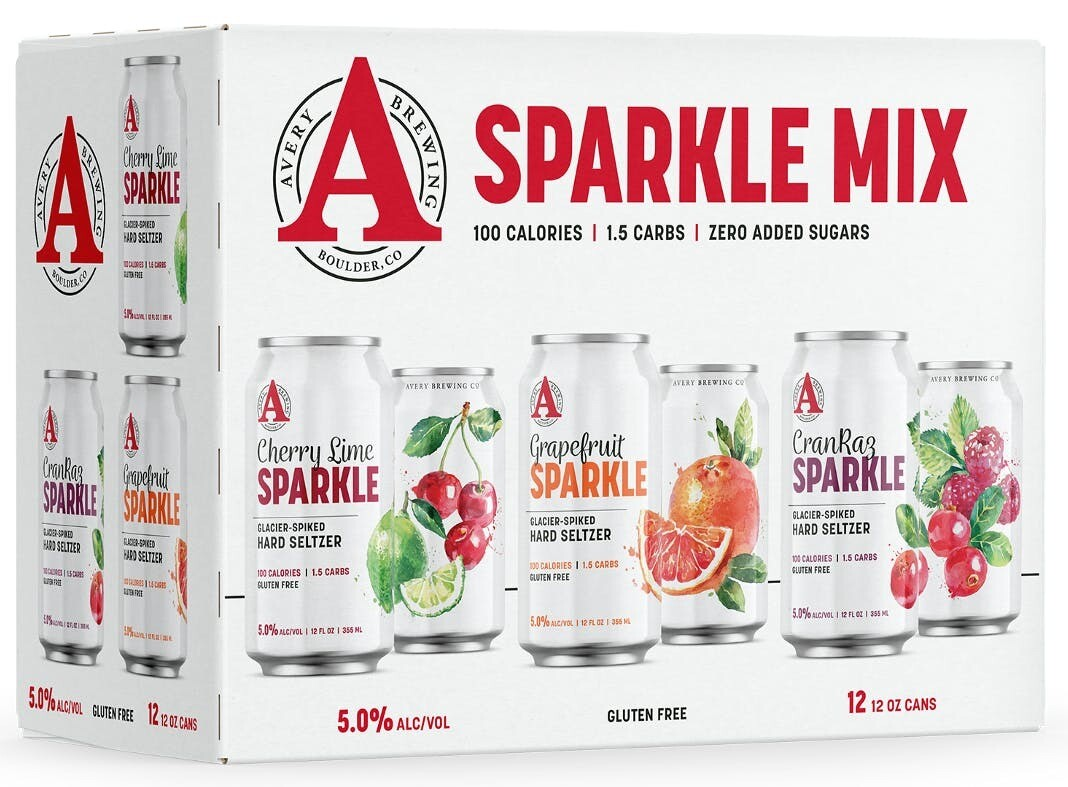 Avery Brew Co. Sparkle Mix 12pk can