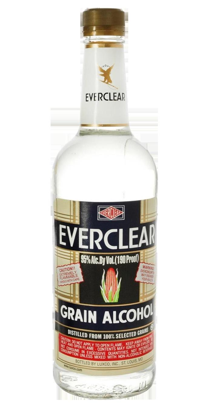 Everclear Alcohol 750mL