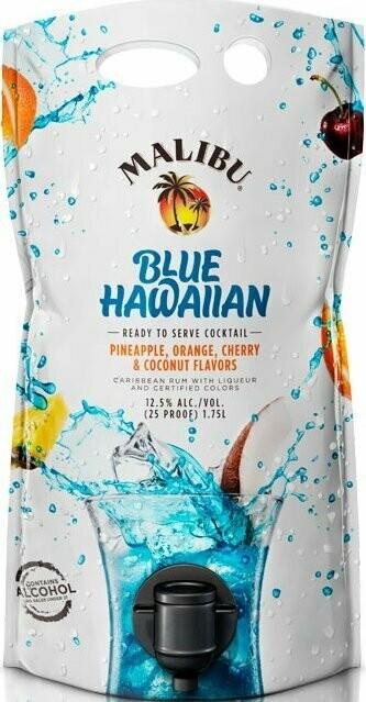 Malibu Blue Hawaiian 1.75L