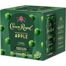 Crown Royal Apple 4pk