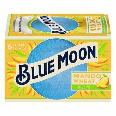 Blue Moon Mango Wheat 6pk can