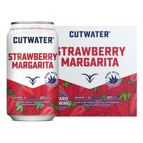 Cutwater Strawberry Margarita 4pk