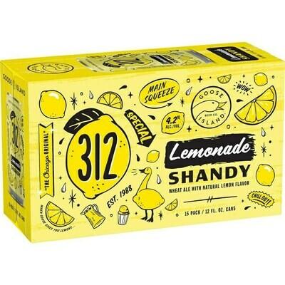 Goose Island 312 Lemonade 15pk can
