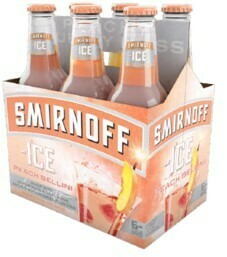 Smirnoff Ice Peach 6pk Btl