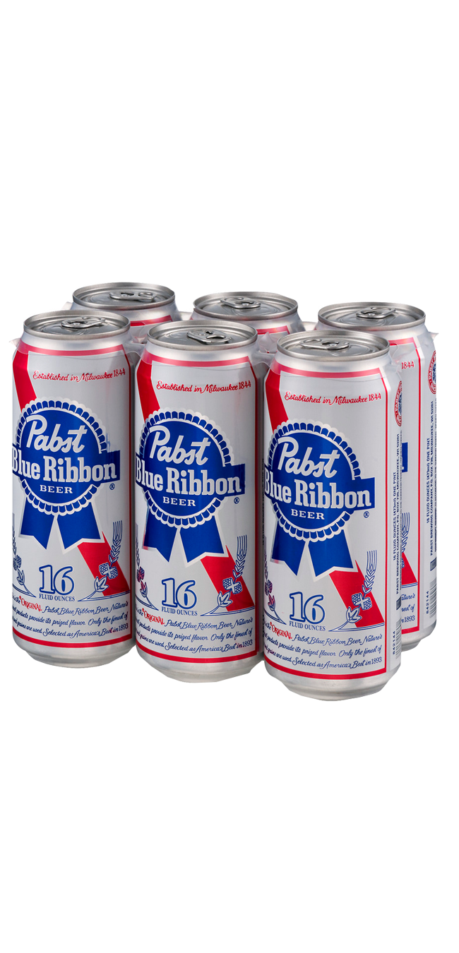 Pabst 6pk can