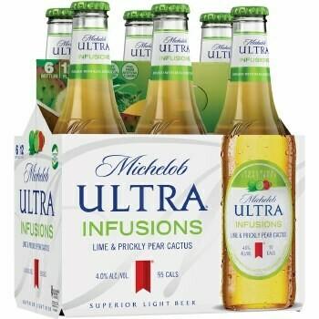Michelob Ultra Lime & Prickly Pear Cactus 6pk btl