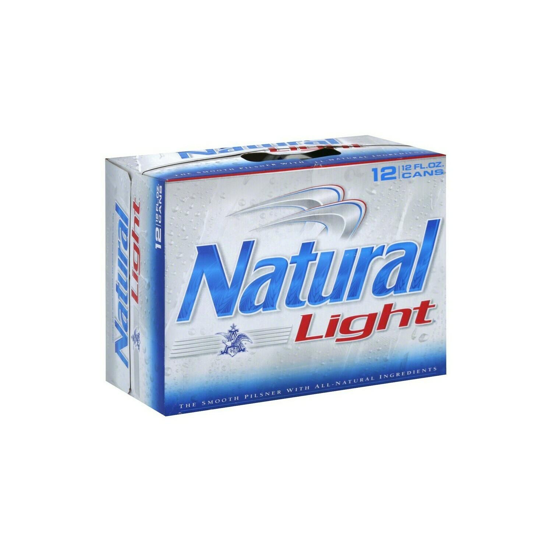 Natural Lt 15pk can